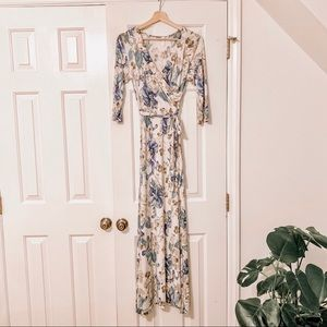 NWOT Pinkblush Floral Maxi Dress | Small